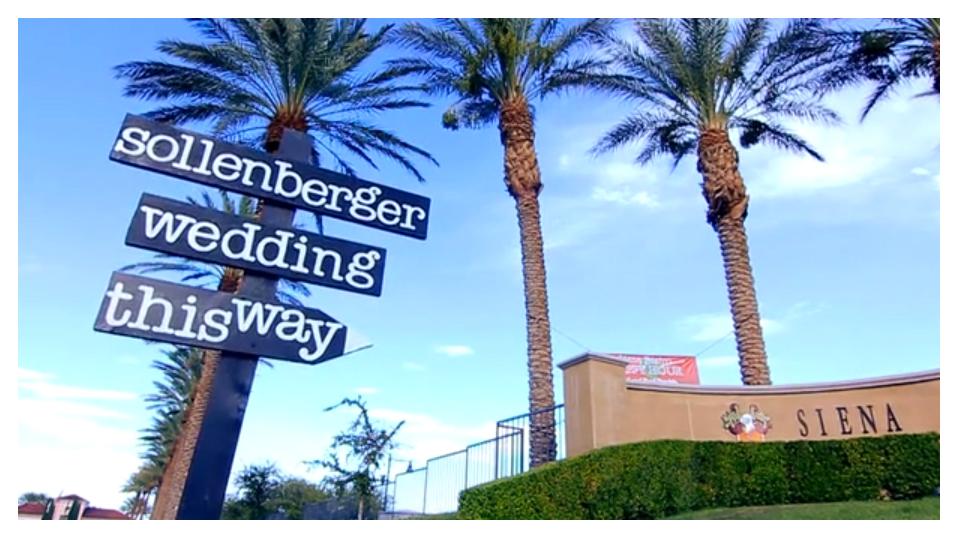 Siena Golf Club, memory lane video, las vegas wedding videographers, san diego wedding videographers