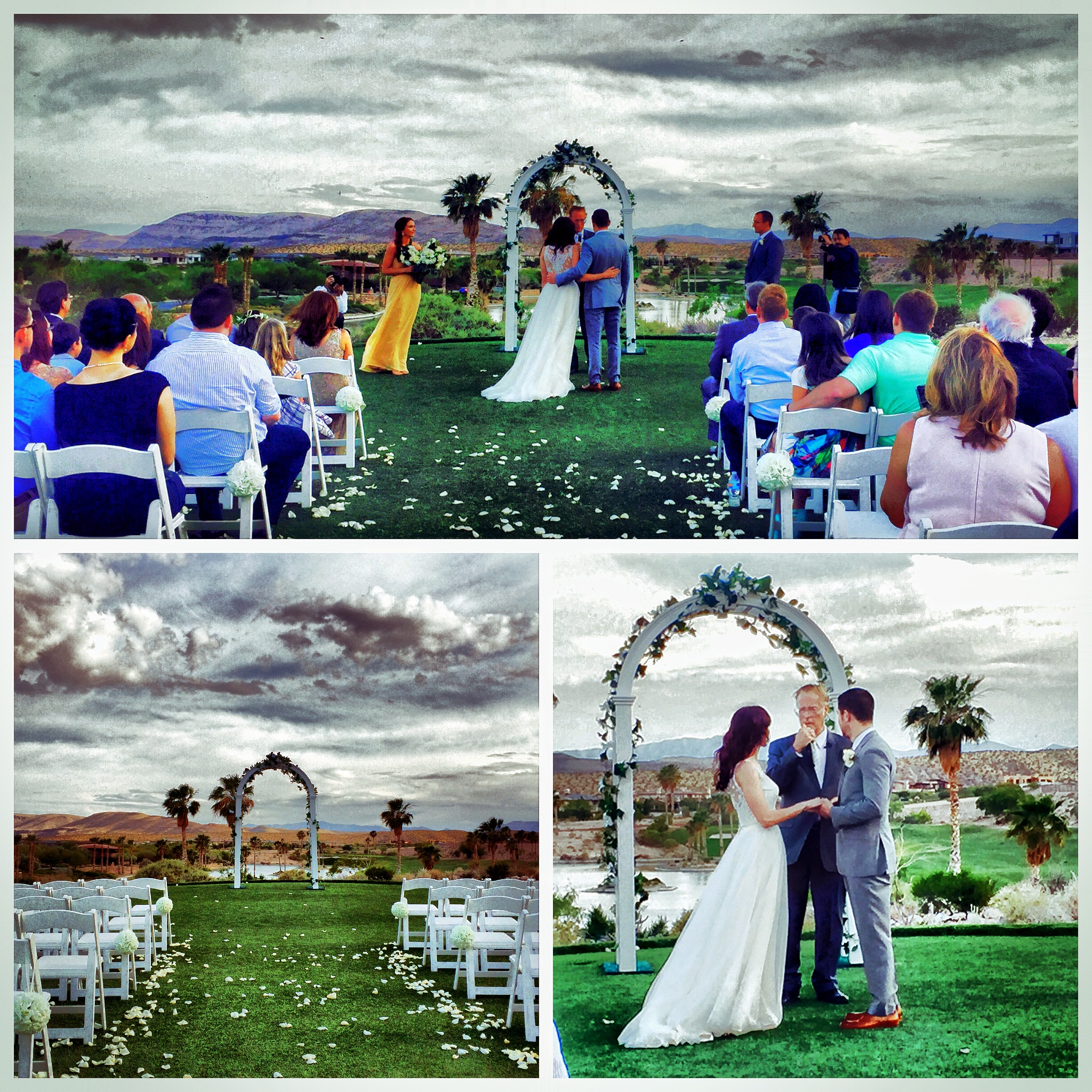 Videographers In Las Vegas Wedding Memory Lane Video Bears Best Golf Club
