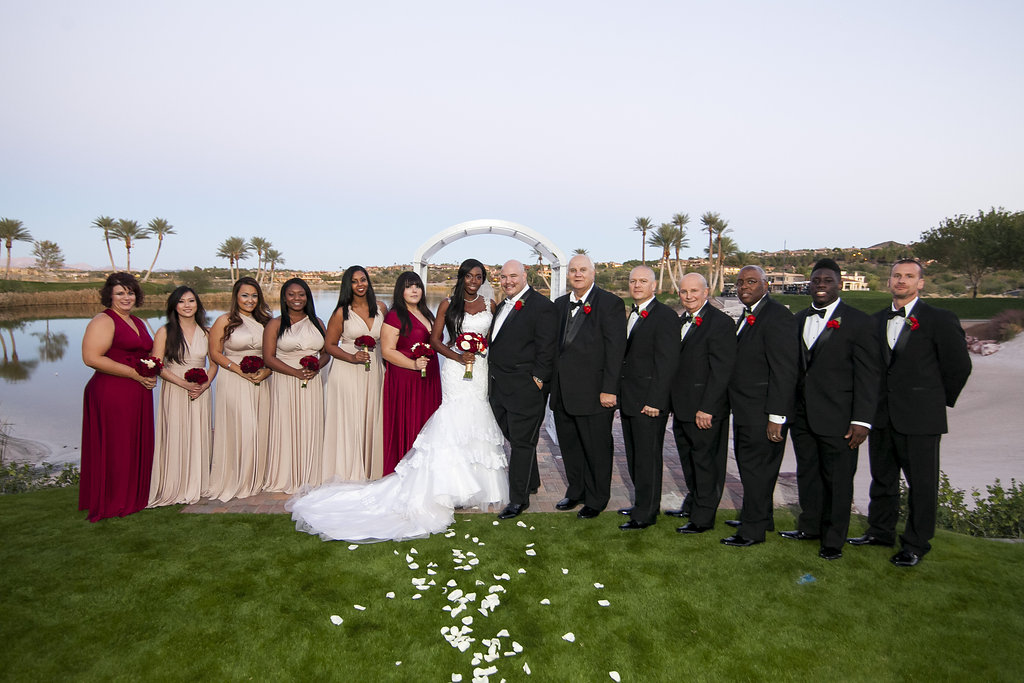 Reflection Bay Las Vegas Wedding Videographers