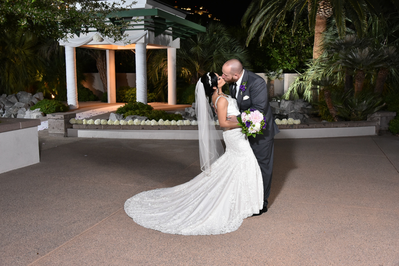 Venue: Emerald at QueensRidge   Photographers/ PhotographyCompany: Cashman  Florist: Tiger Lily   Hair & Makeup: Hair: Keri Welch, Julie Camin, Brenda Shelton / Makeup: Cassie Nazario, Nicole   Cake/Sweets: Cake by Freed's and Sweets by B Sweets Candy  DJ/Band: Darrin (DJ) and Ricky Barraza (Choreographer)   Invitations: Annabelle's All Occasion  Cinematography: Memory Lane Video, Las Vegas Wedding Videographers