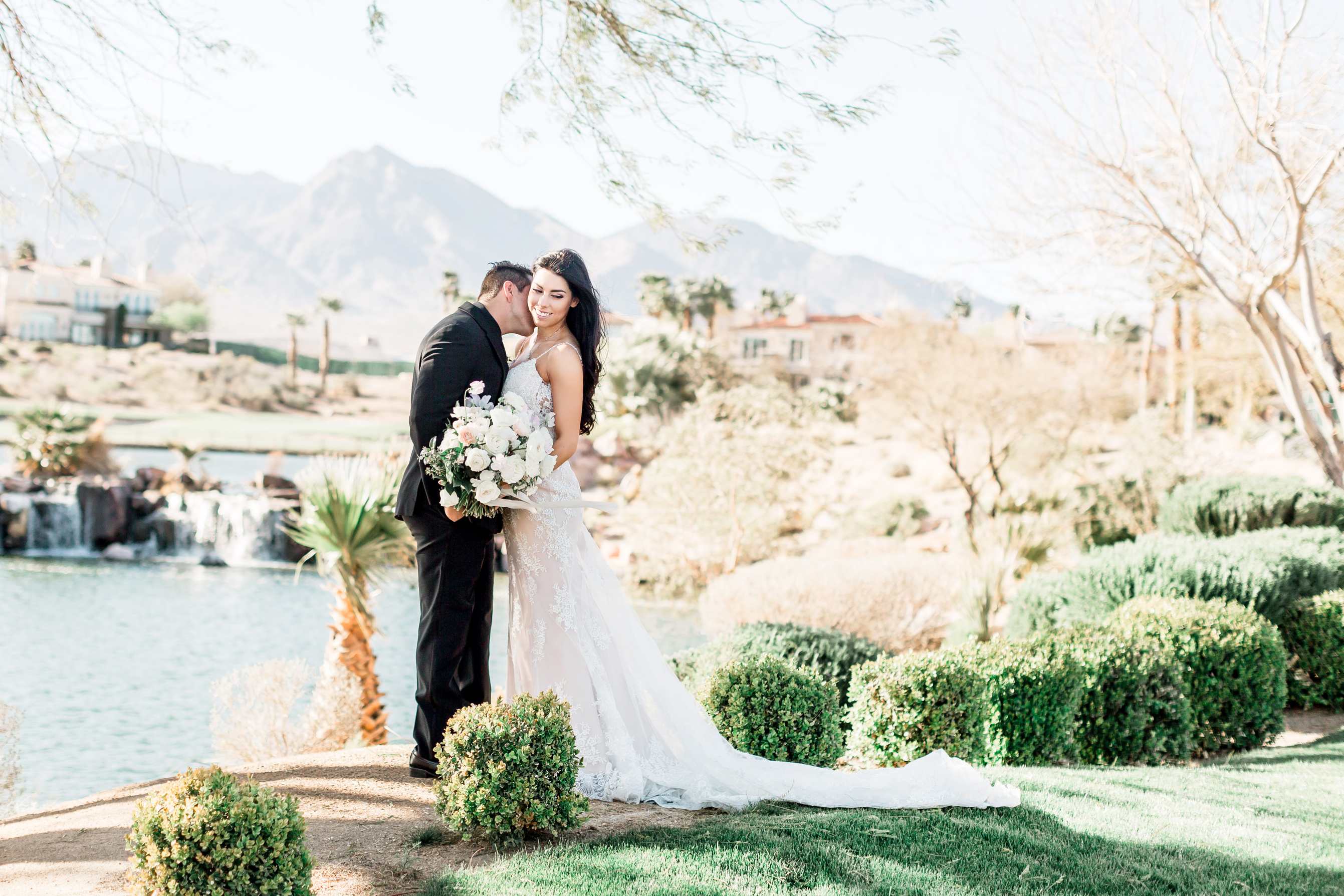 Venue: Red Rock Country Club | Photography: Officiant:  Florist: Layers of Lovely | Cinematography: Memory Lane Video